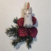 クリスマス限定ブローチ キャンドルの妖精
