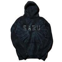 SARUタイダイフーディー [BLACK]
