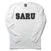 SARU L/S Tee[ホワイト]