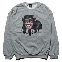 チンパンジーSARUスウェット[GRAY]