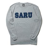 SARU L/S Tee[グレー]