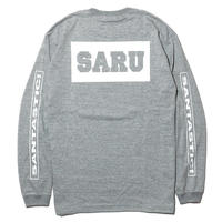 BACK BOX SARU L/S Tee[GRAY]