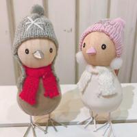 冬のことりさん(人形)