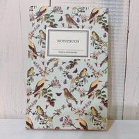 野鳥たちのノート/miniサイズ(ライムグリーン)