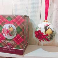 【フェッチェンロイター】サンタのシジュウカラ(クリスマス オーナメント・専用箱つき)