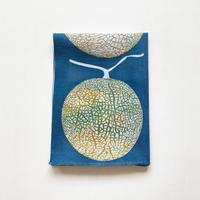 手ぬぐい [メロン] 紺 / Tenugui -Melon-