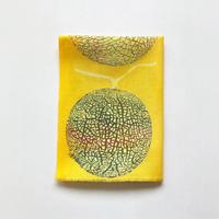 手ぬぐい [メロン] 黄 / Tenugui -Melon-