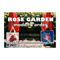 Rose Garden BAG/Choose color,Make your style(完全受注生産)