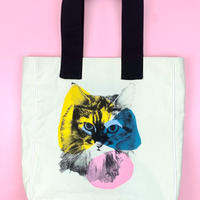 cat college tote bag