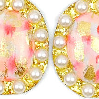 hand paint earrings #1