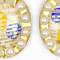 hand paint earrings #3