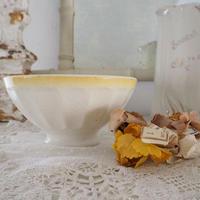 カフェオレボウル(黄色×白)