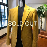 Washed Cotton Jacket (Mustard  Yellow)
