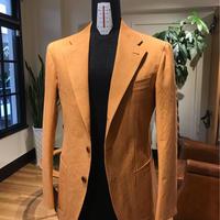 Sun Dry Cotton Orange Jacket