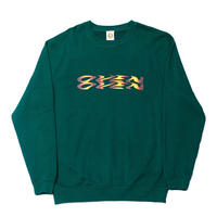 SUNBURST LOGO CREW FOREST