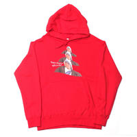 TERESA FAMILY HOODY RED