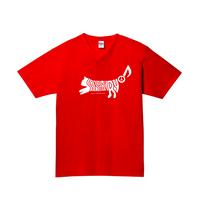SASAKIRYO CAT LOGO Tシャツ (レッド)