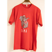 "70~80's ""Health knit"" BAMA Print T-Shirt"