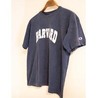 "90's ""Champion"" Harvard College Print T-Shirt"