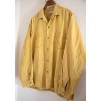 "60's ""BRENT"" Rayon Long Sleeve Shirt"