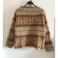 """60~70's """"Pennys"""" Wool&Mohair Knit"""