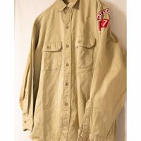 "50s ""BIG MAC"" Army Cloth Long Sleeve Shirt"