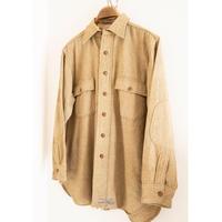 "30's ""PILGRIM"" Flannel Wool Shirt"