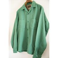 """60~70's """"Sears"""" Wool Long Sleeve Shirt"""