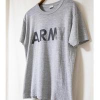 "80s ""Champion"" ARMY Print T-Shrit"