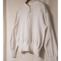 40's Vintage Half  Zip  Sweat Shirt