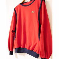 "70's ""LACOSTE"" Sweat Shirt"