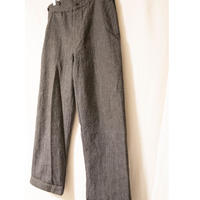 """30's""""P.J.G""""  French Cotton Work Pants"""