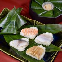 4種ミックス(〆さば・海老・穴子・小鯛)8個入り2パック