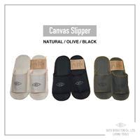 SLIPPER<スリッパ>[3色展開 / 男女兼用 ]※2号帆布使用※