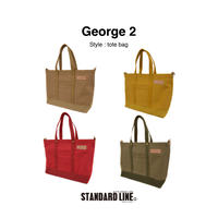 George 2 [カラー4号帆布] 4色展開