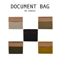 document bag [6号帆布] 5色展開