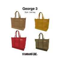 George 3 [カラー帆布4号] 4色展開