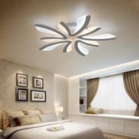 現代のLEDタンポポアクリル天井ランプペンダントライトシャンデリア寝室