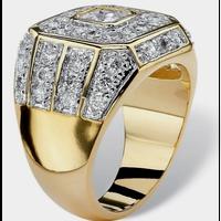 ジルコニアゴールドgpリング 指輪