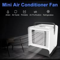 ポータブルusbミニファン北極空気超コンパクトポータブルエアコンクーラーミニエアコン個人用蒸発ポータブル加湿器エアコンとファン