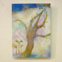 YM003大樹の絵「このみち」山路絵子