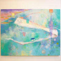 YM001リュウグウノツカイの絵「竜宮の使いに導かれ ―ツギノトビラヲ―」山路絵子