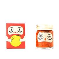 【吹屋の紅だるま】当店1番人気の柚子の風味が香る赤柚子胡椒。うどん、汁物、肉料理などなんでも合う万能調味料。