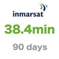 インマルサット 38.4分/90日有効 チャージ 手数料込み