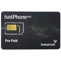 IsatPhone プリペイド用SIMカード Inmarsat