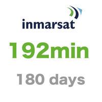 インマルサット 192分/180日有効 チャージ 手数料込み