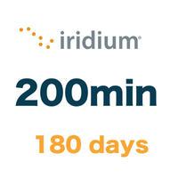 イリジウム 200分/180日有効 チャージ 手数料込み