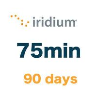 イリジウム 75分/90日有効 チャージ 手数料込み