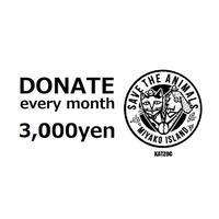 毎月寄付3,000円
