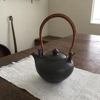 山崎さおり 土瓶  (黒)